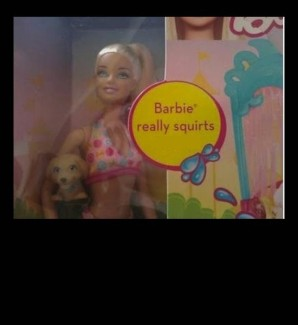 It seems even Barbie is getting in on the act. While Mattel's figure head doll is gushes H2O, what do real squirters project out of themselves